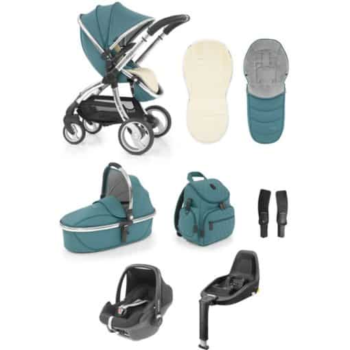 egg® Special Edition Luxury 3in1 Pebble+ Travel System with Familyfix3 Base-Cool Mist (New 2019)