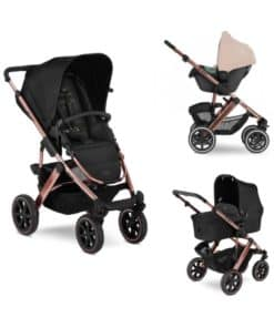 ABC Design Salsa 4 Diamond Edition 3in1 Travel System-Rose Gold (2020)