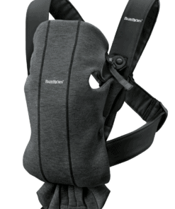BABYBJÖRN Baby Carrier Mini - Charcoal grey, 3D Jersey