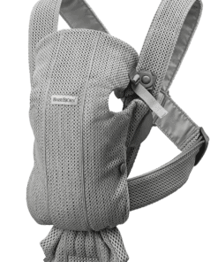 BABYBJÖRN Baby Carrier Mini - Grey, 3D Mesh