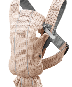 BABYBJÖRN Baby Carrier Mini - Pearly pink, 3D Mesh