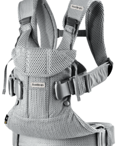 BABYBJÖRN Baby Carrier One Air - Silver, 3D Mesh