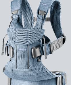 BABYBJÖRN Baby Carrier One Air - Slate blue, 3D Mesh