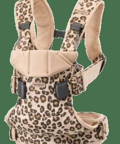 BABYBJÖRN Baby Carrier One - Beige/Leopard, Cotton