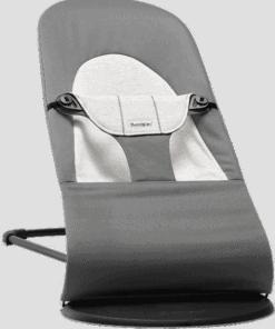 BABYBJÖRN Bouncer Balance Soft - Dark Grey/Grey, Cotton/Jersey
