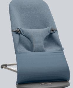 BABYBJÖRN Bouncer Bliss 3D Jersey - Dove blue, 3D Jersey