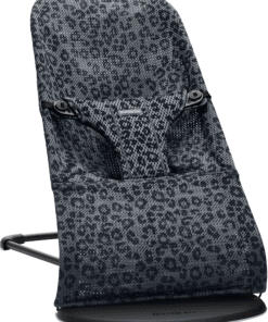 BABYBJÖRN Bouncer Bliss - Anthracite/Leopard, Mesh