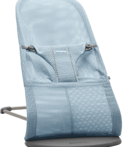 BABYBJÖRN Bouncer Bliss - Sky blue, Mesh