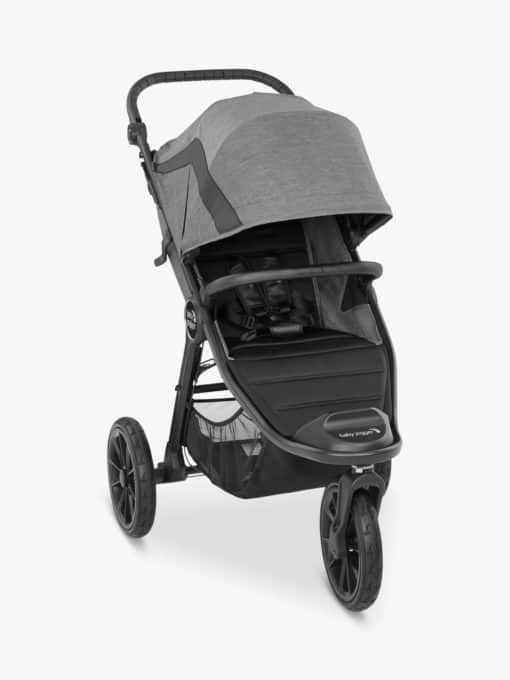 Baby Jogger City Mini Elite2 Pushchair and Belly Bar, Barre