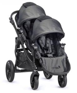 Baby Jogger City Select Tandem Stroller-Charcoal Denim