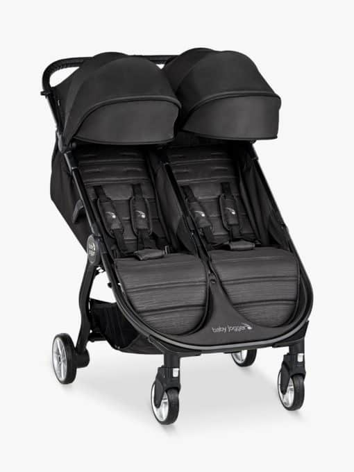 Baby Jogger City Tour2 Double Pushchair, Pitch Black