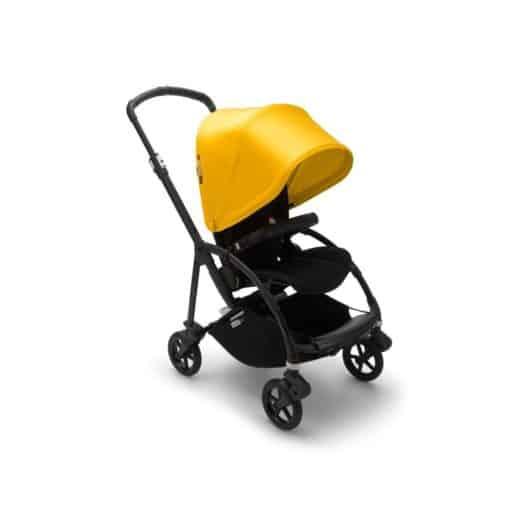 Bugaboo Bee 6 Complete Pushchair- Black/Lemon Yellow