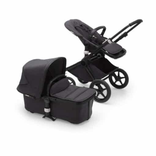 Bugaboo Fox2 Mineral Complete Pushchair-Black/Washed Black