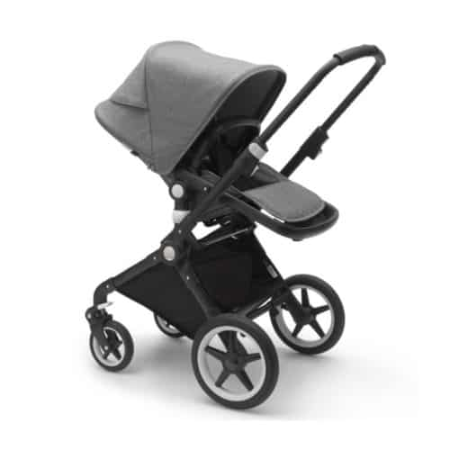 Bugaboo Lynx Complete Pushchair-Black/Grey Melange (New 2021)