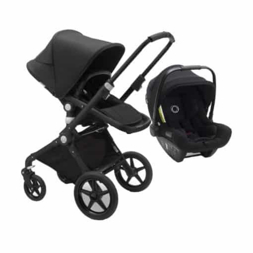 Bugaboo Lynx With Turtle Air Travel System-Black/Black (New 2021)