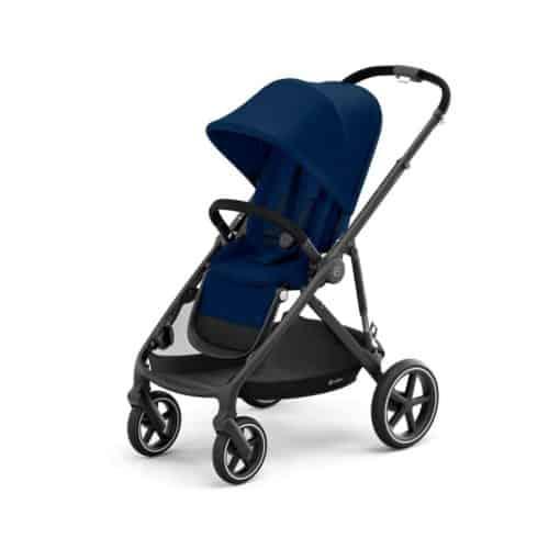 Cybex Gazelle S Pushchair-Black/Navy Blue (2021)