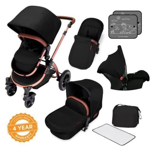 Ickle Bubba Stomp V4 Special Edition All-In-One Travel System-Midnight Bronze