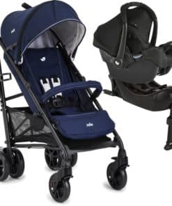 Joie Brisk Lx 2in1 Gemm Travel System With I-Base-Midnight Navy