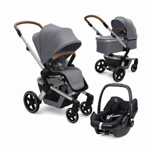 Joolz Hub+ 3in1 Travel System-Gorgeous Grey (2021)