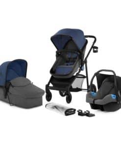 Kinderkraft Juli 3in1 Travel System-Denim
