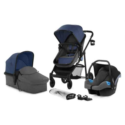 Kinderkraft Juli 3in1 Travel System-Denim