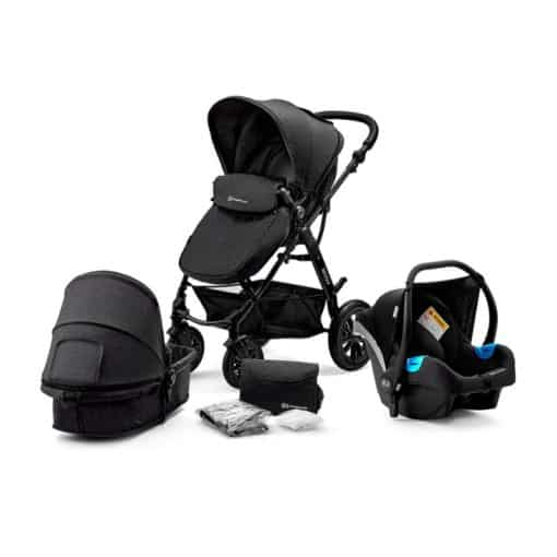 Kinderkraft Moov 3in1 Travel System-Black