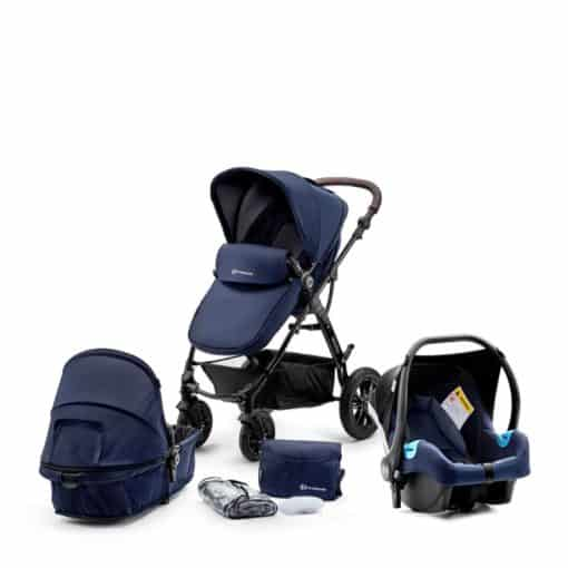 Kinderkraft Moov 3in1 Travel System-Navy
