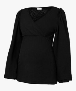 Mamalicious Latla Maternity And Nursing Top, Black