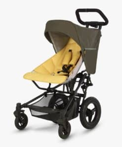 Micralite Fastfold Stroller, Khaki/Saffron
