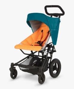 Micralite Fastfold Stroller, Teal/Orange
