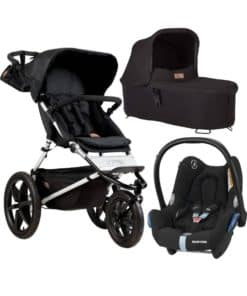 Mountain Buggy Terrain 3in1 Travel System-Onyx