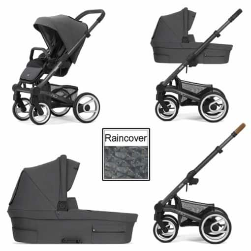 Mutsy Nio Inspire 3in1 Dark Grey Chassis-Pearl Grey (CLEARANCE)