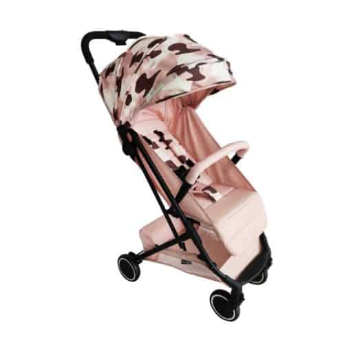 My Babiie AM to PM Christina Milian MBX1 Compact Stroller-Blush Camo (MBX1AMPMROCM)