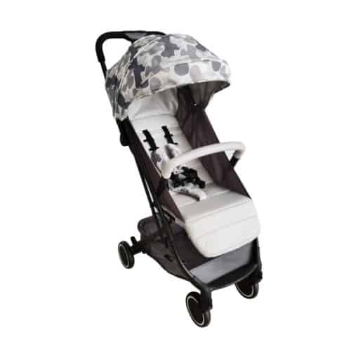 My Babiie AM to PM Christina Milian MBX1 Compact Stroller-Grey Camo (MBX1AMPMGRCM)