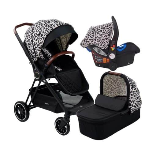 My Babiie AM to PM by Christina Milian Travel System MB250-Leopard Victoria MB250AMPMLEO