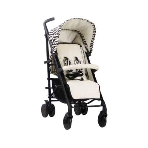 My Babiie MB51 Stroller - Nicole Snooki Polizzi MAWMA/Zebra MB51MWZEB