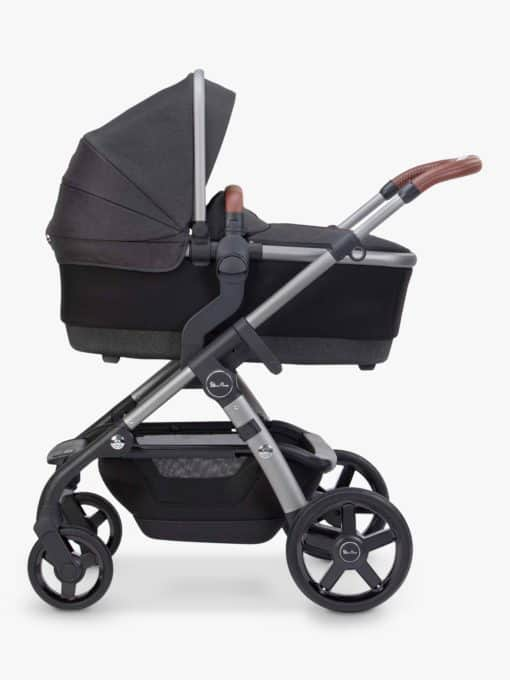 Silver Cross Wave 2020 Pushchair, Charcoal Black
