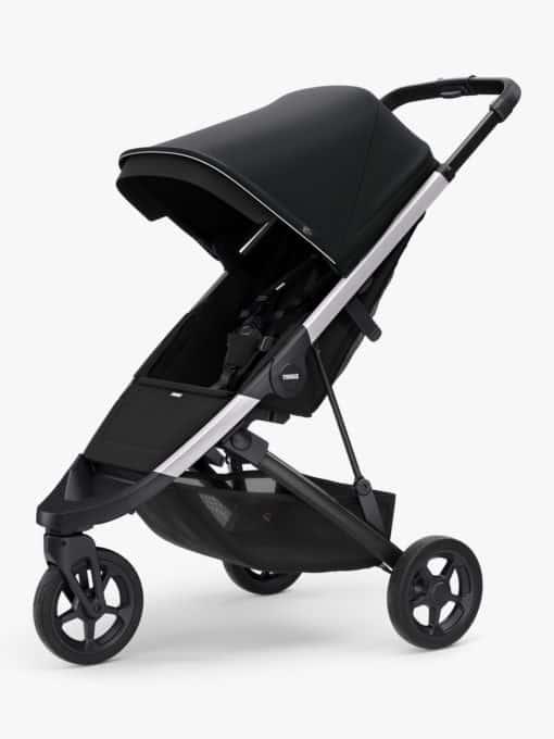 Thule Spring + Canopy Pushchair, Aluminium/Midnight Black