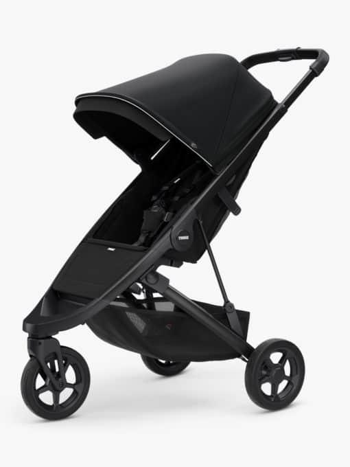 Thule Spring + Canopy Stroller, Black/Midnight Black