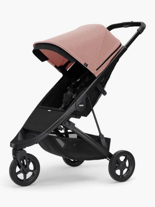 Thule Spring + Canopy Stroller, Black/Misty Rose
