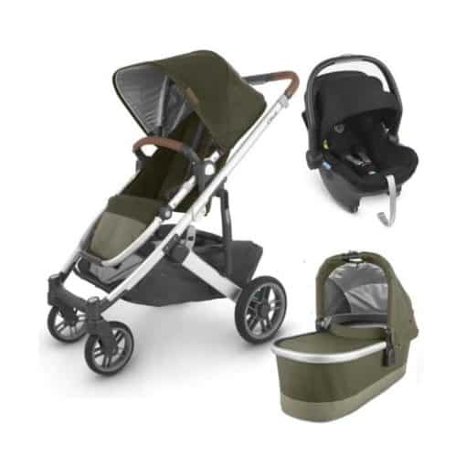 UPPAbaby CRUZ V2 3in1 Travel System-Hazel