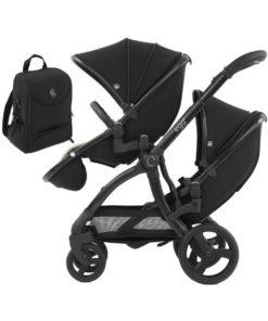 egg® 2 Special Edition Tandem Stroller-Just Black (NEW)