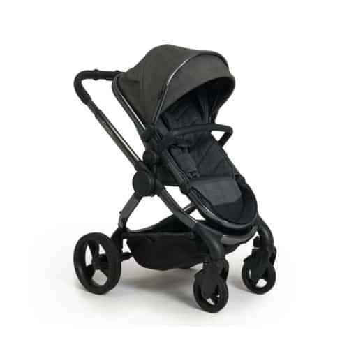 iCandy Peach Phantom Stroller + Maxi Cosi Cabriofix 0+ Car Seat-Dark Grey Check (New 2021)