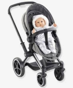 3-in-1 Pushchair, by Corolle grey dark solid