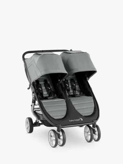 Baby Jogger City Mini 2 Double Pushchair, Slate
