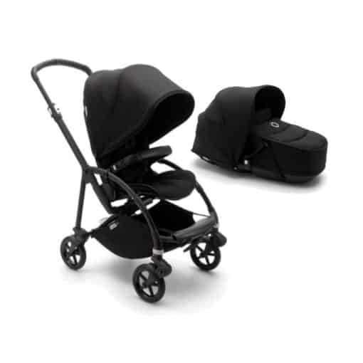 Bugaboo Bee 6 Complete With Carrycot- Black/Black