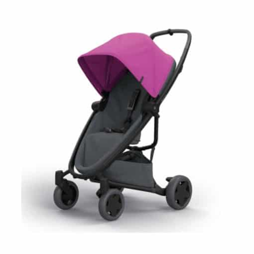 Quinny Zapp Flex Plus Stroller-Pink on Graphite