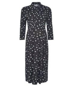Womens Dp Maternity Cobalt Heart Dress, Cobalt