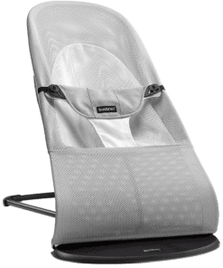 BABYBJÖRN Bouncer Balance Soft - Silver/White, Mesh