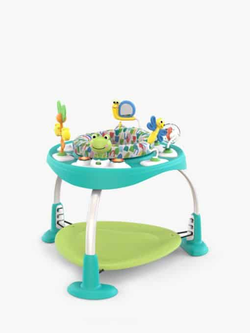 Bright Starts Bounce Baby 2-in-1 Activity Jumper and Table